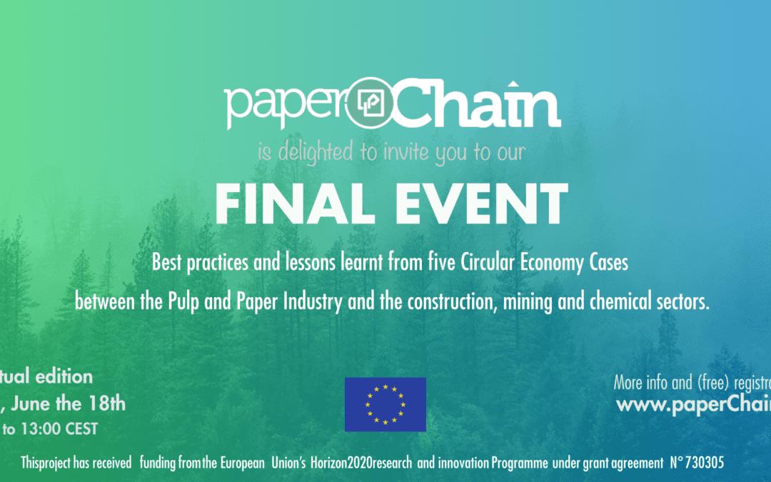 paperChain: Final Event